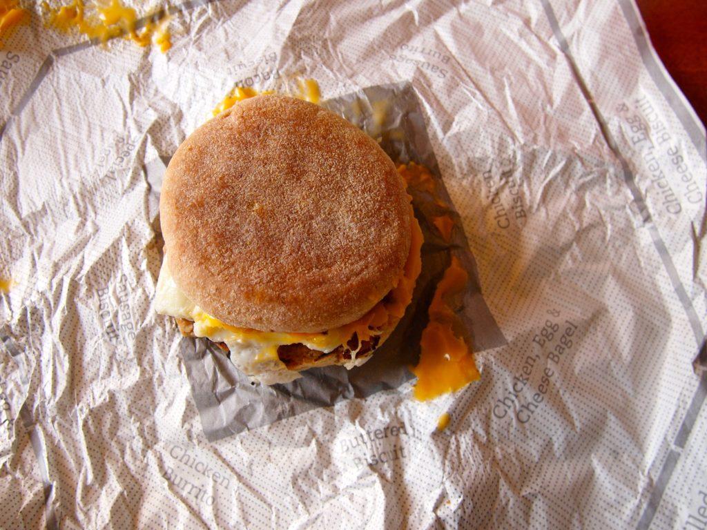CFA Breakfast Sandwich