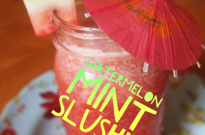 Watermelon Mint Slushie