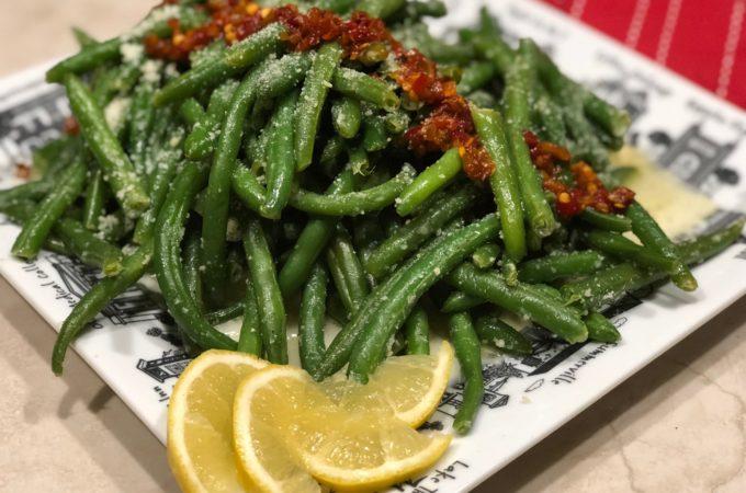 Fast & Fabulous Garlic Parmesan Green Beans