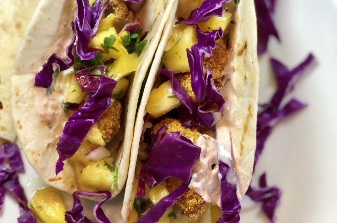 Fish-less Fish Tacos